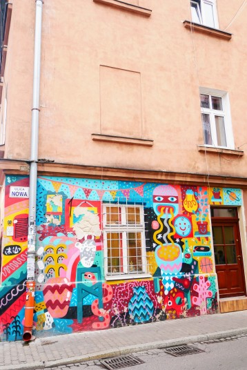 Appreciating the style & architecture of Kazimierz