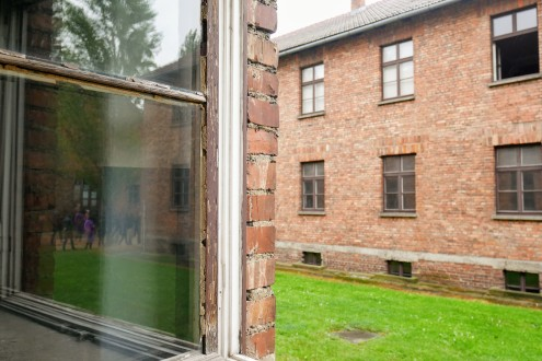 Photos from our Auschwitz tour