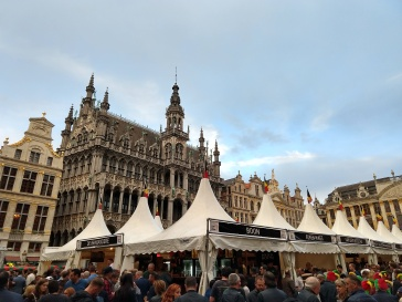 Belgian Beer Weekend in the Grand Place