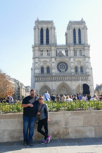 Jane and Randy at Notre Dame