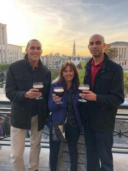 Dan, Jane, and Thomas at Mont desArts