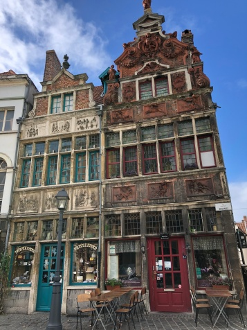 The always delightful streets and facades of Ghent