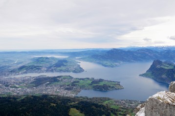 It's a long way down to Lucerne