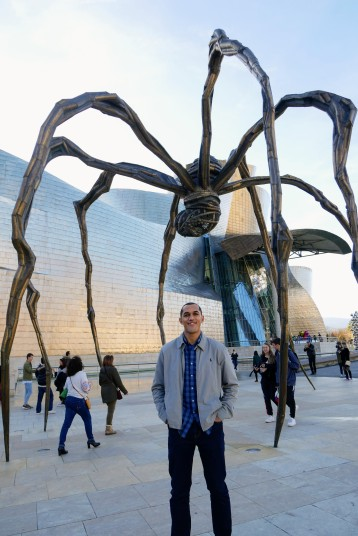 What do spiders and puppies have in common- they can both be found at the Guggenheim