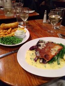 Dinner at Grumbles on Churton Street