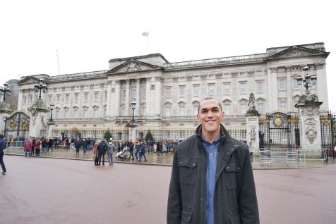 Dan at Buckingham Palace