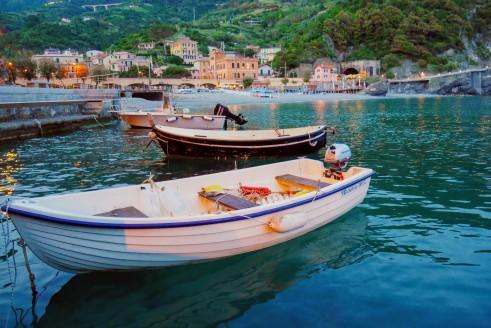 The Monterosso harbor