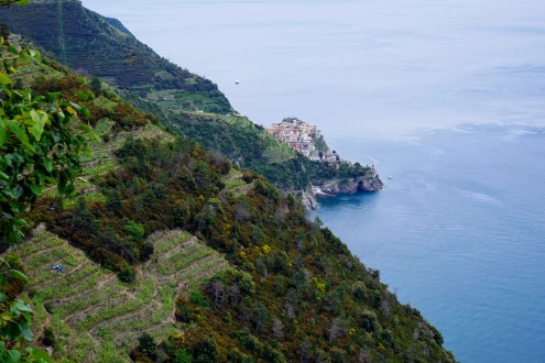 Nothing but gorgeous views on the hike out of Corniglia and into Volastra