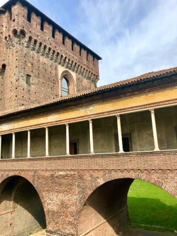 Sempione Park and Sforzesco Castle