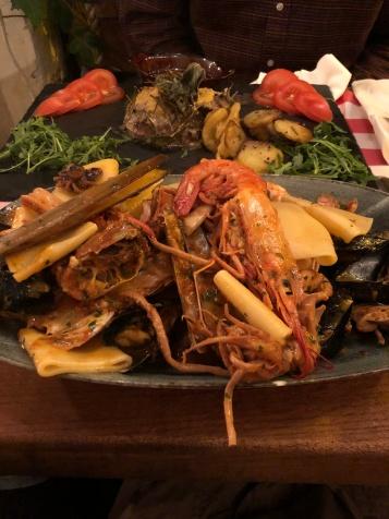 Kaitlan's seafood dinner