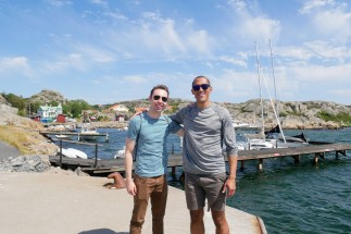 Kaitlan and Dan on Brännö