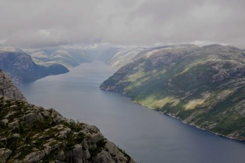 The impressive Lysefjord