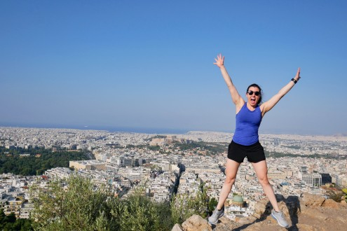Views from the top of Mount Lycabettus