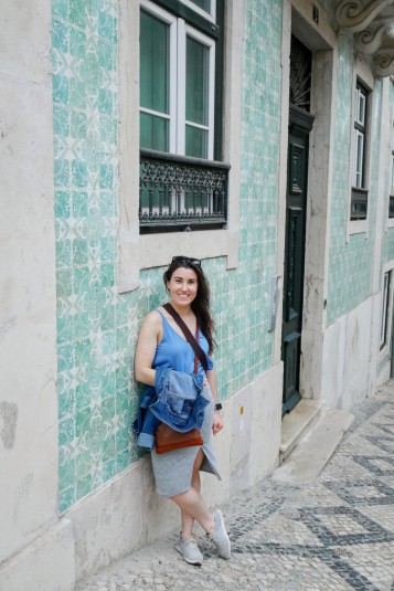 A couple more examples of my beloved azulejos of Lisbon