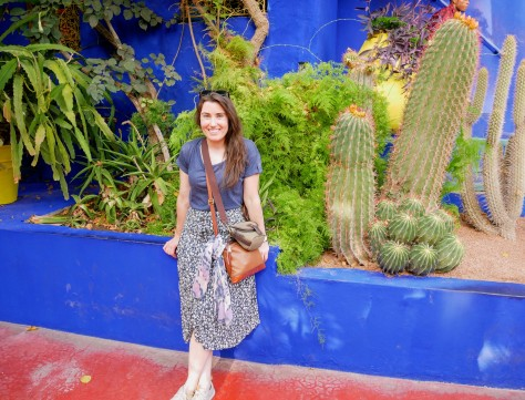 The lush Jardin Majorelle