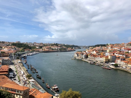 Walking it off around Porto