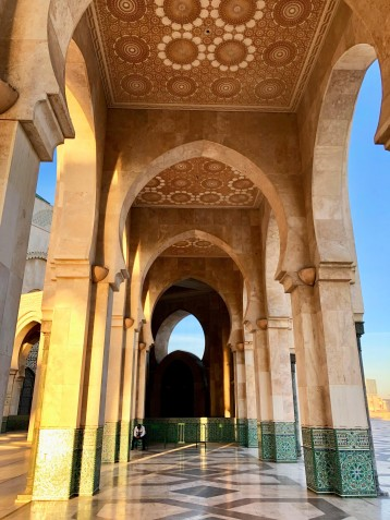 While the mosque is open for tours, simply seeing the building from the outside is worth it
