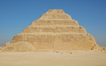 The unique Step Pyramid of Djoser