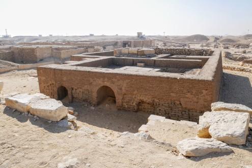 A mastaba at Saqqara