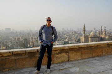 Overlooking Cairo from the walls of the Citadel