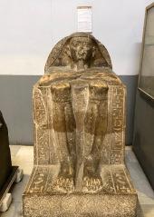 Block statue of Hetep