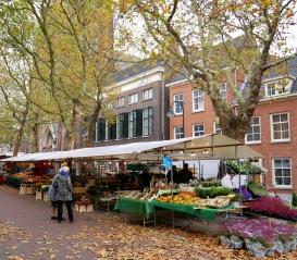 Delft flower market