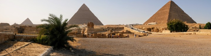 The Sphinx and Pyramids of Giza
