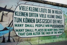 Mural found at the East Side Gallery