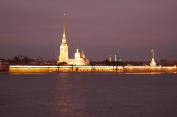 Peter and Paul Fortress across the Neva River