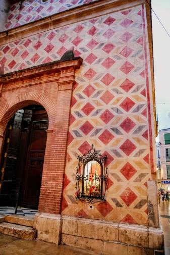Málaga city center