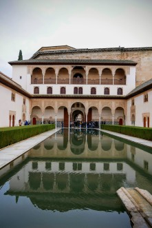 The light reflecting pool of the Patio de Arrayanes