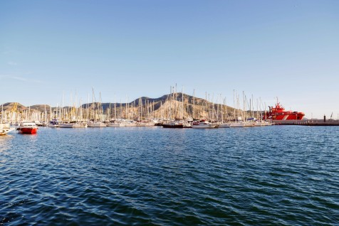 The Cartagena marina