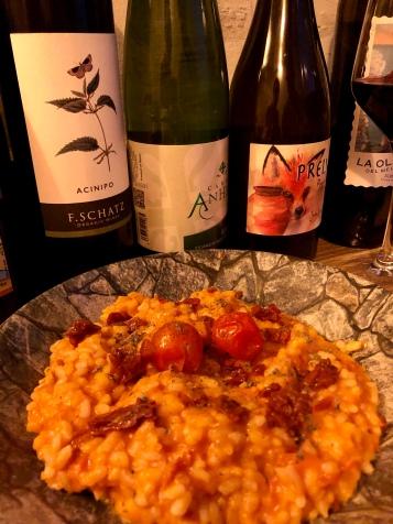 The tomato paella at Anyway Wine Bar in Málaga