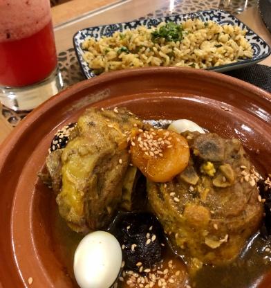 Dinner at Palacio Andaluz Restaurante Almona