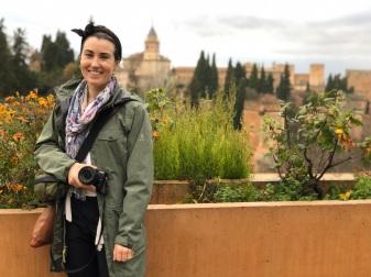 Rainy but picturesque Granada