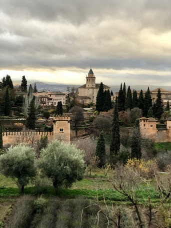 View of the Alhambra from the Generalife