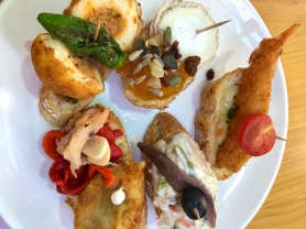 Self-service tapas for Christmas Day lunch