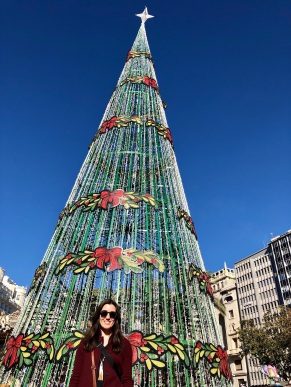 The (fake) fir tree of Valencia