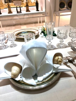 The Imperial Napkin Fold at the Imperial Silver Collection