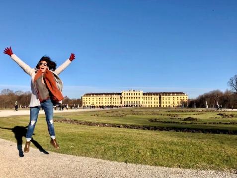 The Schönbrunn Palace of Vienna