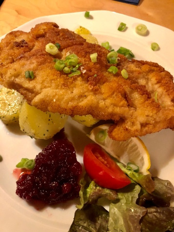 Wiener Schnitzel made with veal
