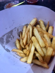 The frites of Maison Antoine at Place Jourdan