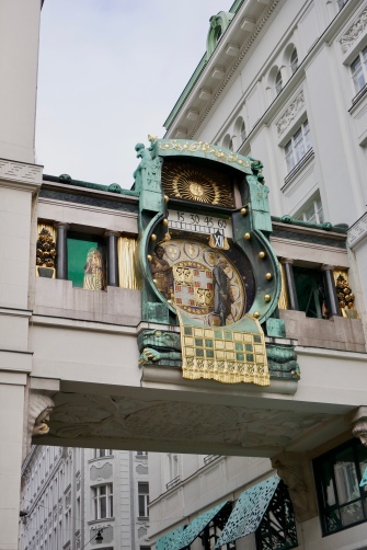 Anker Clock built by the Anker Insurance Company in 1914