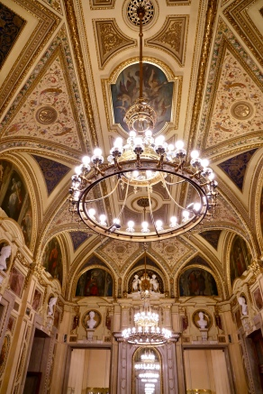 Inside the Vienna State Opera House