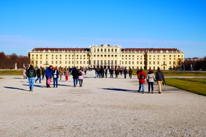 The Sisi Ticket gives you access to Schönbrunn Palace (seen here)