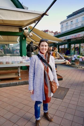 At the Naschmarkt in Vienna