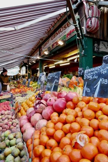 Fresh produce at At the Naschmarkt in ViennaNaschmarkt