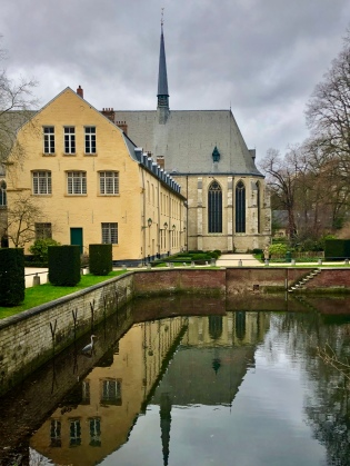 Scenes from Belgium - La Cambre Abbey in Ixelles