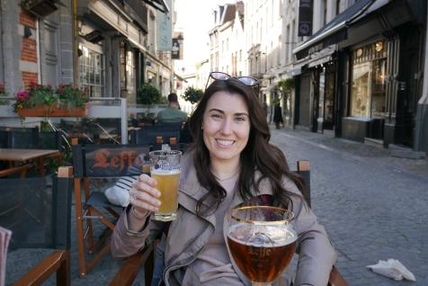 Café Leffe in Sablon, Brussels
