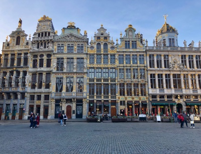 Scenes from Belgium - Grand Place in Brussels